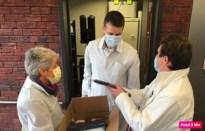 Duizend mondmaskers voor woon-zorgcentrum Toermalien