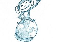 Corona-aapje van Kinrooienaar verovert de wereld
