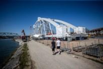 Spoorbrug Kuringen eind april geplaatst