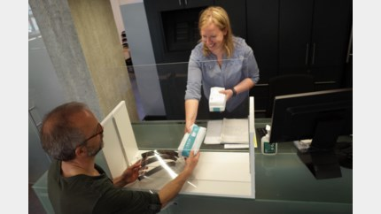 Stad Bilzen verdeelt 10.000 mondmaskers