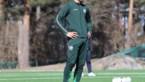 Ibrahimovic duikt op tijdens training van 'zijn' Hammarby in Zweden
