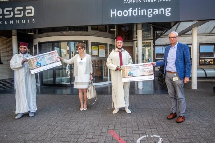 Limburgs-Marokkaanse gemeenschap zamelt 38.300 euro in voor strijd tegen corona
