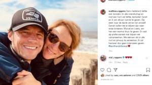 Huwelijk Mathias Coppens is voorbij
