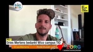 Dries Mertens zaait lof over Peltse school die gezichtsmaskers maakt