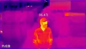 Chinese toestanden uit Pelt: warmtecamera's verraden wie in de massa koorts heeft