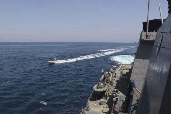 "Iran ""intimideert"" Amerikaanse marine in Perzische Golf"