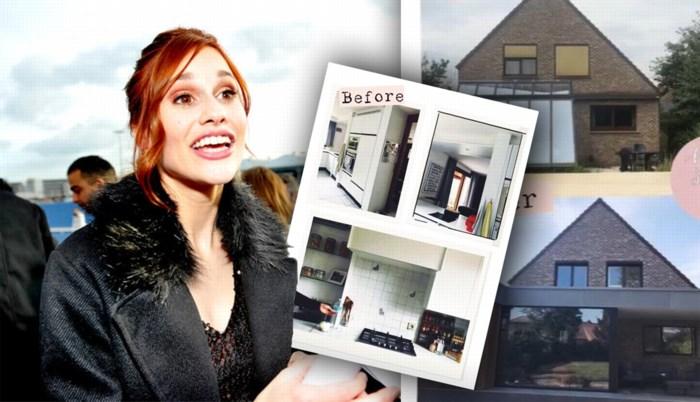 Hanne van K3 gunt haar volgers een zeldzame blik in haar gerenoveerde huis