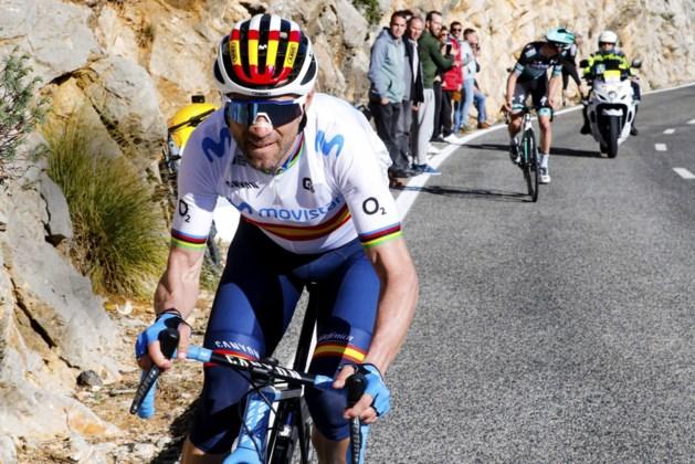 """Alejandro Valverde blijft hopen op olympisch goud: """"Maar op mijn 41e zal het nog moeilijker worden"""""""