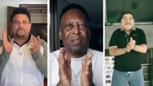 Pélé, Maradona, Ronaldo...: voetbalsterren brengen hulde aan alle zorgverleners
