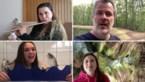 Lezers zingen en spelen het Limburgs Volkslied om Limburgdag te vieren