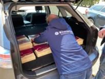 Kiwanis Lummen Quadrivio schenkt taarten aan de Lummense woonzorgcentra