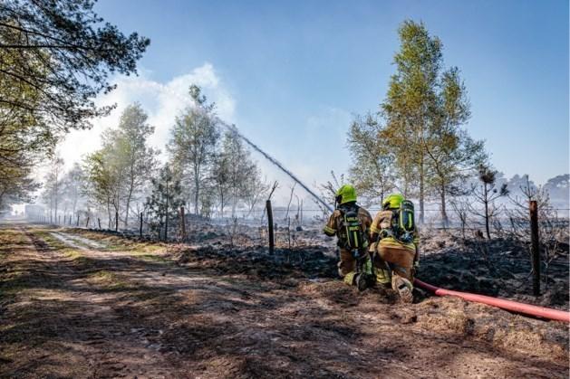 Limburgse tankwagens opgeroepen voor Nederlandse natuurbrand