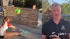 VIDEO. Vital Heynen lacht met zijn kapsel en zet zijn dochters aan het werk