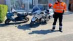 20-jarige op scooter stampt naar politie op motor: jongeman test positief op drugs