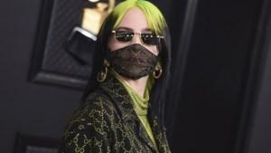 Billie Eilish en Justin Bieber ontwerpen mondmaskers voor het goede doel