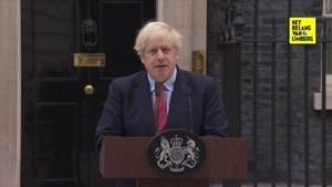 """Britse premier Boris Johnson: """"Te vroeg om lockdown te lossen"""""""