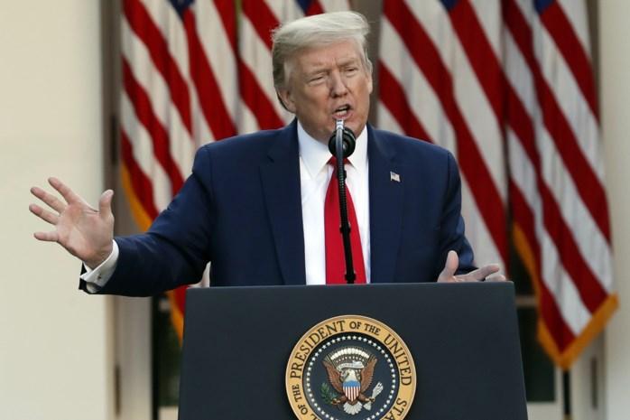 """Trump: """"Ik weet hoe het gaat met Kim Jong-un, maar kan er niet over praten"""""""