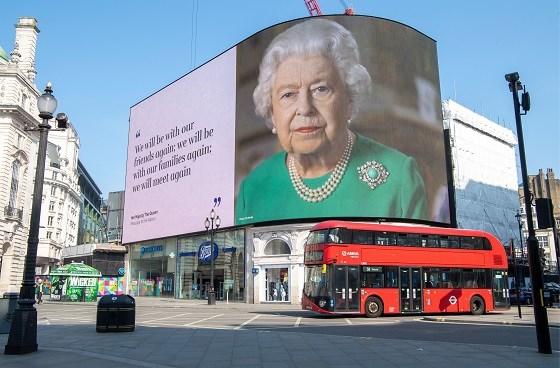 Britse koningin Elizabeth spreekt op 8 mei opnieuw het land toe