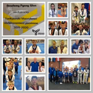 Eerste plaats voor Bilzerse taekwondoclub Academy Pyong Won