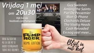 Fumprock gaat digitaal: eerste online festival in Diepenbeek