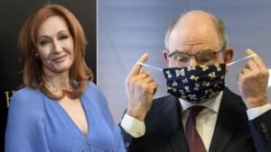 Minister Geens krijgt steun van Harry Potter-auteur J.K. Rowling nadat hij stuntelde met mondmasker