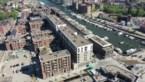 Drone toont Quartier Bleu in vogelvlucht
