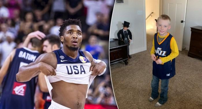 """Basketbalster krijgt hartverscheurend bericht: """"We gaan ons zoontje cremeren in jouw truitje"""""""