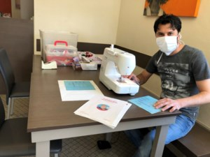 Stad Bilzen opent inzamelpunt voor herbruikbare mondmaskers