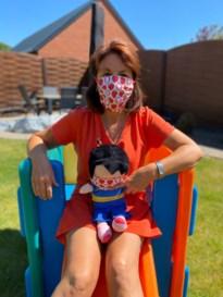 Anna, de pop vanaf nu met mondmasker