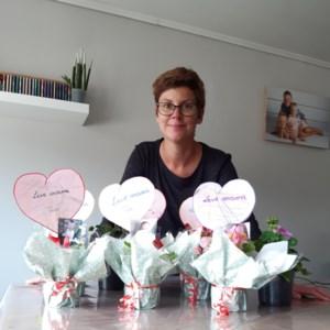 Onthaalouder Suzanne uit Ophoven zet mama's in de bloemetjes