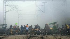 Zestien spoorlopers omgekomen bij aanrijding goederentrein in India