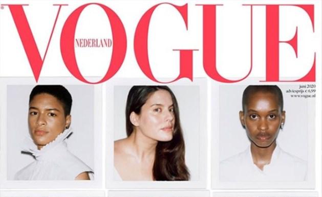 Vogue zet modellen in isolatie op de cover