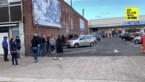 Honderden mensen schuiven aan bij Ikea Hasselt