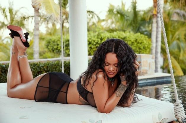 Je kunt zelf de ster worden van de nieuwe lingeriecampagne van Rihanna
