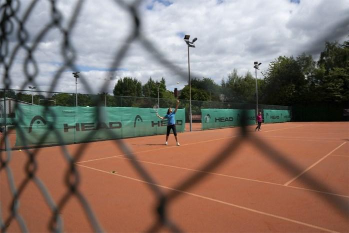 Tennistrainingen zijn weer toegestaan