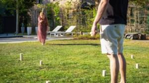 DOEN. Viking Kubb is het ideale spel voor een tijdreis in je tuin