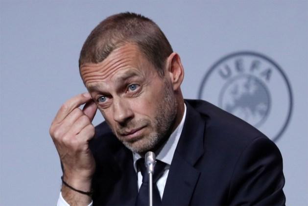 UEFA verduidelijkt standpunten van Ceferin, Belgische clubs moeten geen schrik hebben