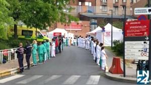Premier Wilmès krijgt ijskoude ontvangst bij eerste bezoek aan ziekenhuis