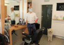 Tongerse herenkapper Christophe geeft zorgverleners gratis knipbeurt nu sluiting voorbij is