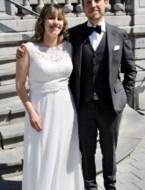 Claudia en Karel in Hasselt