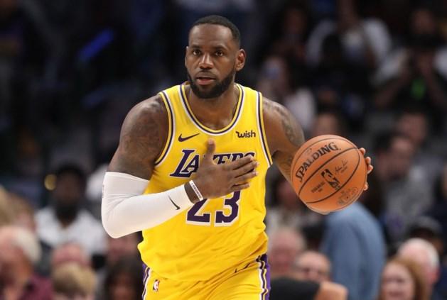LeBron James snakt naar competitie: 'Ik wil weer spelen'
