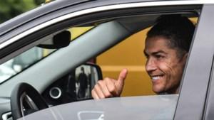 Cristiano Ronaldo na ruim twee maanden weer op training bij Juventus
