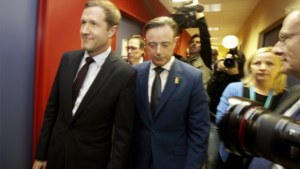 """Patrick Dewael: """"Geen kandidaat-premier PS en N-VA bemoeilijkt gesprekken over regering"""""""