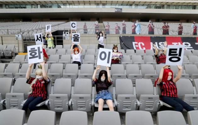 Sekspoppen in tribunes kosten FC Seoel boete