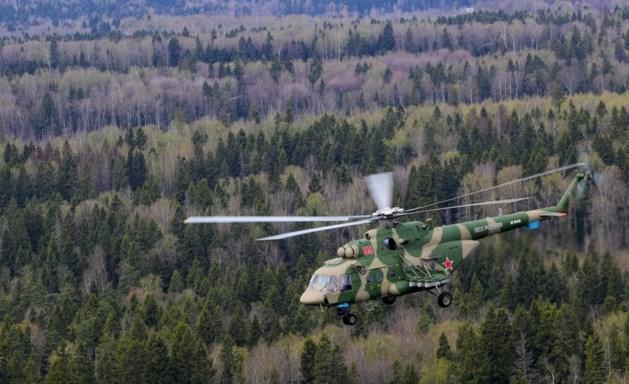 Bemanning Russische legerhelikopter sterft bij crash