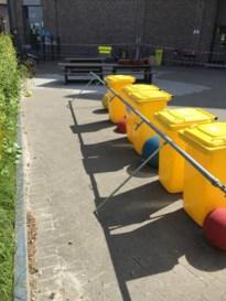 Handenwasstraat voor basisschool in Rapertingen