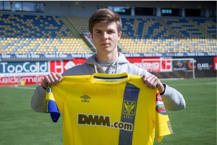 18-jarige Jarne Steuckers tekent profcontract bij STVV