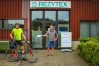 Dominique fietst meer dan 1.000 km om mondmaskers te verdelen