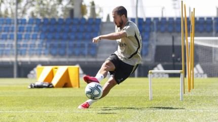 Spaanse regering zet licht op groen: Hazard en Courtois mogen vanaf 8 juni weer voetballen