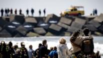 Opnieuw grote zoekactie naar vermiste vijfde surfer in Scheveningen